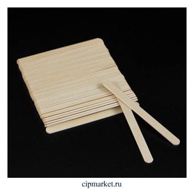 Палочки для мороженого, набор 50 шт, дерево. Размер: 11,3×1см - фото 9473