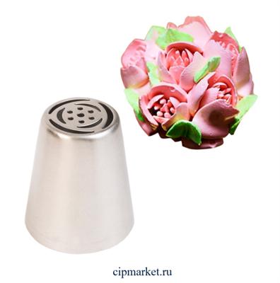 Насадка №31 Тюльпан. Размер: 4,4х2,5х3,8 см - фото 9507