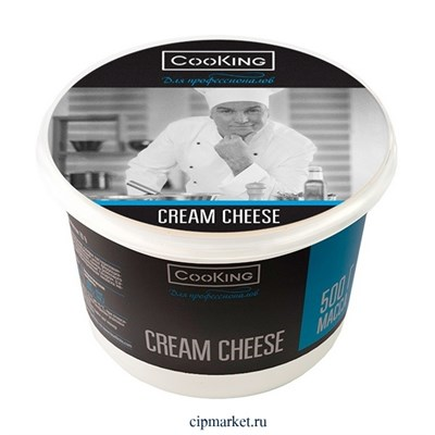 Сыр мягкий Кремчиз CooKing. Жирность: 70%. Вес: 500 гр - фото 9819