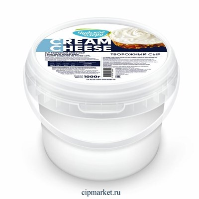 Сыр творожный Кремчиз Чудское озеро. Жирность: 60%. Вес: 1 кг - фото 9888