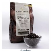 Шоколад Callebaut горький 70,5% какао, Бельгия, фасовка. Вес: 100 гр