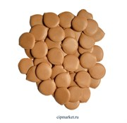 Глазурь монетки Шокомилк Молочная (крем-брюле), вес: 250 гр