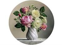 Съедобная картинка Букет цветов № 01244, лист А4. Вафельная/сахарная картинка.