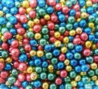 Шарики сахарные металлизированные Микс №1, 5 мм. Вес: 30 грамм.