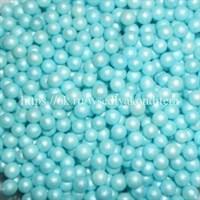 Посыпка шарики жемчуг голубой, 3-5 мм. Вес: 50 гр.