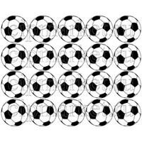 Съедобная картинка для капкейков Футбольный мяч № 01194, лист А4.
