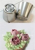 Насадка Малазийская роза Виктория. Диаметр: 3 см, высота: 4 см.