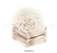 Наполнитель бумажный Белый. Вес: 50 гр.