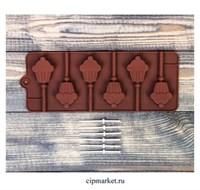 Форма для шоколада и конфет Кексик. Размер: 24*9,5 см.