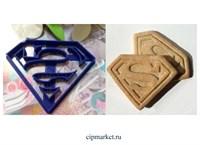 Вырубка со штампом Супермен. Материал: пластик. Размер: 8 см.