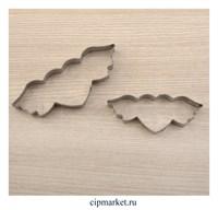 Набор форм для вырезания печенья Сердце с крыльями. Размер: 9x4 см, 2 шт.