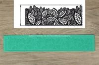 Мат силиконовый для создания кружева  Листва. Размер: 40х6 см