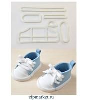Набор для создания кроссовок, 6 шт, пластик. Размер подошвы: 7 см * 2,8 см.