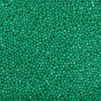 Посыпка шарики зеленые, 2 мм, вес: 50 грамм.