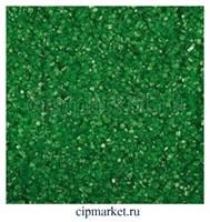 Посыпка сахарные кристаллы зеленые. Вес: 100 гр