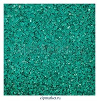 Посыпка сахарные кристаллы бирюзовые. Вес: 100 гр