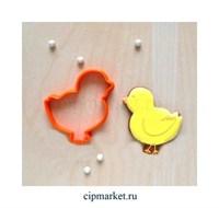 Вырубка Цыпленок. Материал: пластик. Размер: 8 см.