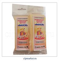 Мастика сахарная Фанси Телесная (универсальная), Россия. Вес: 100 гр.