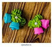 Фигурка сахарная Колокольчики. Цвет микс. Размер: 3 см