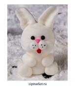 Фигурка сахарная Кролик. Размер: 4-4,5 см