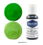Краситель гелевый AmeriColor, цвет: ELECTRIC GREEN, 21 гр