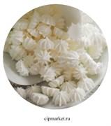 Сахарные фигурки мини-безе Белые. Вес: 40 гр. Размер: 1 см.