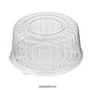 Коробка для торта №2. Материал: пластик. Россия. Размер внутренний: 26,3*11 см