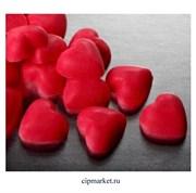 Глазурь шоколадная Сердечко красное. Вес: 50 гр