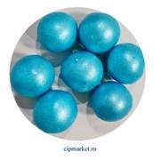 Посыпка-драже сахарное BIAMIX шары Голубые, 2 см. Вес: 30 гр, Греция