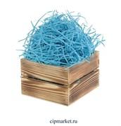 Наполнитель бумажный Голубой. Вес: 50 гр.