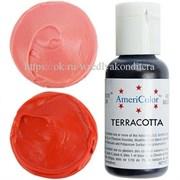 Краситель гелевый AmeriColor, цвет: TERRACOTA, 21 гр