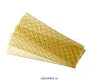 Желатин пищевой листовой.  Вес: 10 гр (2 листа)