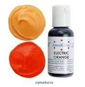 Краситель гелевый AmeriColor, цвет: ELECTRIC ORANGE, 21 гр