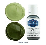 Краситель гелевый AmeriColor, цвет: MOSS (мох), 21 гр