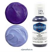 Краситель гелевый AmeriColor, цвет: VIOLET  , 21 гр