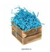 Наполнитель бумажный Синий. Вес: 50 гр.