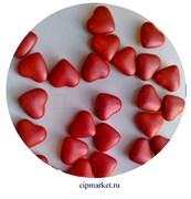Посыпка-драже сахарное BIAMIX Красные сердца. Вес: 30 гр, Греция