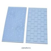 Комплект из 2-х текстур:кирпичная стена и древесина. Размер: 15cm x 7cm.