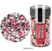 Посыпка сахарная ассорти MIXIE Принцесса-мороженка. Вес: 50 гр, Россия.