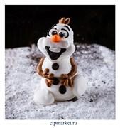 Фигурка сахарная Снеговичок. . Цвет микс. Размер: 7,5 см