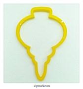 Вырубка  Сосулька/Игрушка. Материал: пластик. Размер: 8 см