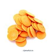 Глазурь монетки Шокомилк Оранжевая (апельсин), вес: 250 гр