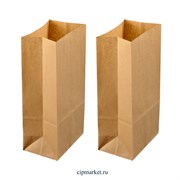 Пакет упаковочный крафт БП поштучно. Размер: 100х70х265 мм
