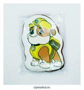 Пряник медовый Щенячий патруль Крепыш. Размер: 10,5 см. Вес: 65 гр. Лицензия