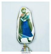 Пряник медовый Топпер Холодное сердце Анна. Размер: 15 см. Вес: 80 гр. Лицензия