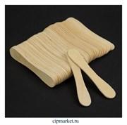 Палочки для мороженого МАГНУМ, набор 50 шт, дерево. Размер: 9,4×1,7 см