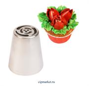 Насадка №33 Тюльпан. Размер: 4,4х2,5х3,8 см