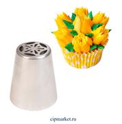 Насадка №37 Тюльпан. Размер: 4,4х2,5х3,8 см