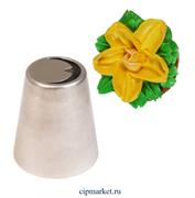 Насадка №1 Лист тюльпана. Размер: 4,5х3,5 см