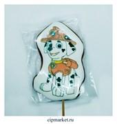 Пряник медовый Топпер  Щенячий патруль Маршал. Размер: 10,5 см. Вес: 65 гр. Лицензия